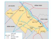 Bài 22. Thành phố Cần Thơ – Địa lí 4: Chỉ vị trí, giới hạn của thành phố Cần Thơ trên bản đồ hành chính Việt Nam.