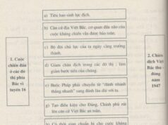 Bài 25. Những năm đầu của cuộc kháng chiến toàn quốc chống thực dân Pháp (1946-1950) – SBT Sử lớp 9: Giải thích nguyên nhân bùng nổ cuộc kháng chiến toàn quốc chống thực dân Pháp xâm lược
