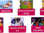 Lesson One: Words – Unit 12 – Family & Friends Special Edittion Grade 5: Listen and read.