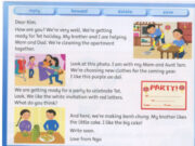 Lesson Five: Skills Time! – Unit 10 – Family & Friends Special Edittion Grade 3: Read again. Write.