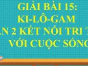 Bài 15 Ki-lô-gam trang 57, 58, 59, 60, 61 Toán lớp 2 tập 1