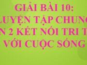 Bài 10 Luyện tập chung trang 38, 39 SGK Toán lớp 2 tập 1